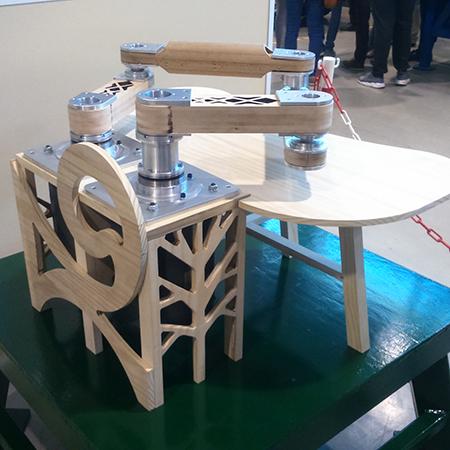 Prototype de robot en bois ESB / LS2M