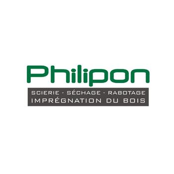 Philipon scierie séchage rabotage logo