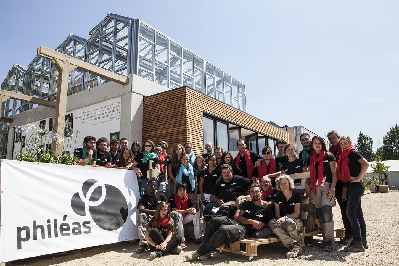 Solar Decathlon Europe by Valeria Anzolin and Jason Flakes project