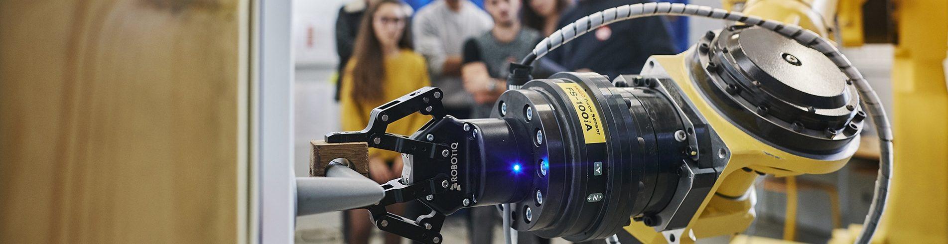 Entreprise ESB collaboration formation robotique