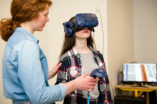 Espace immersif dédié à la réalité virtuelle et augmentée à l'ESB