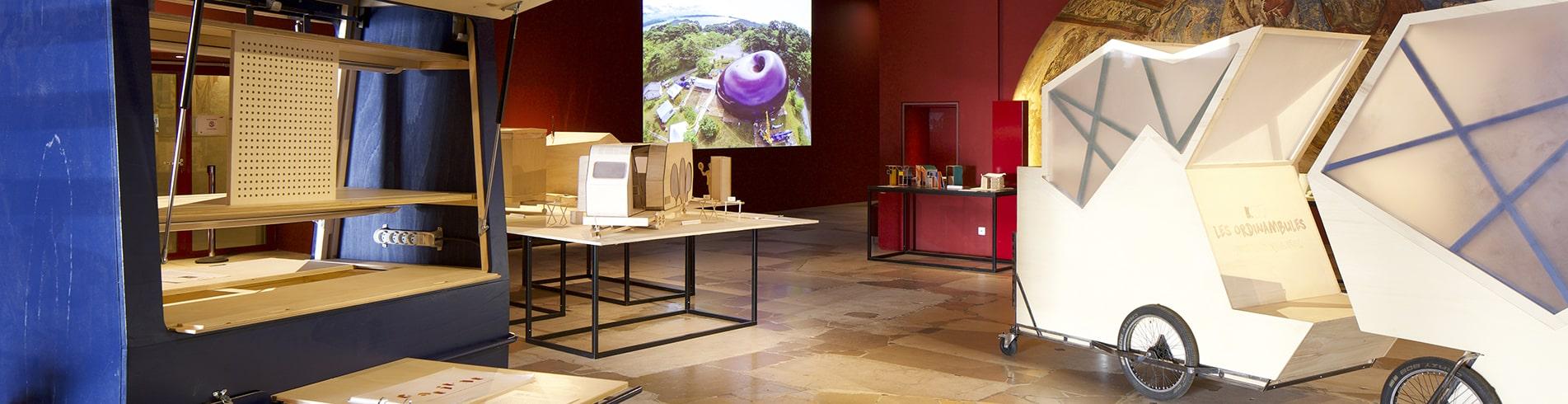 Photo de l'exposition Mini maousse 7 à la Cité de l'architecture et du patrimoine