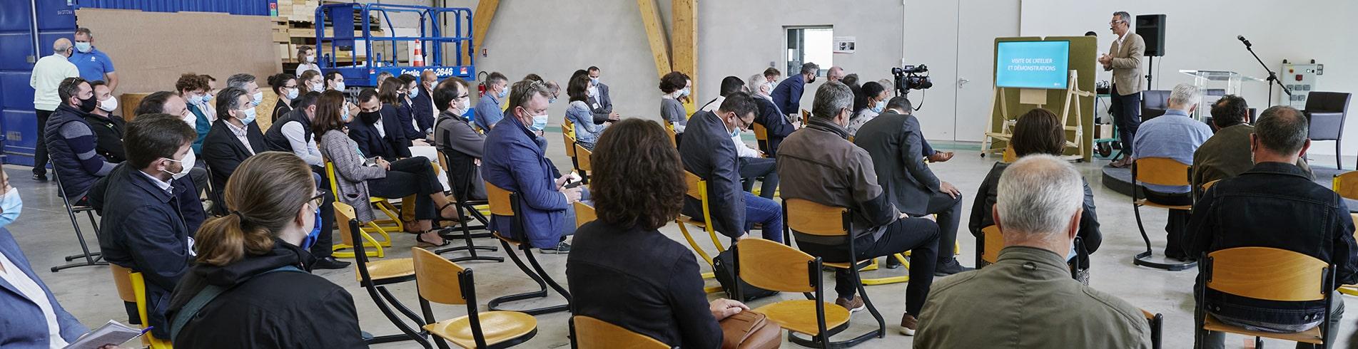 Inauguration atelier bois ESB