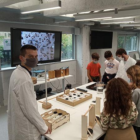 L'ESB au village des sciences à Nantes