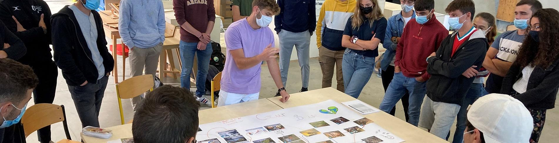atelier la fresque du climat en école d'ingénieur ESB nantes